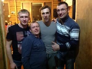 Коля-Сергей-Рома-Саша